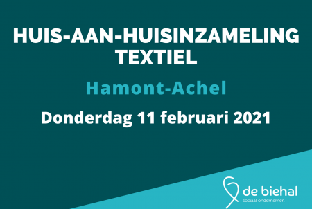HAH-inzameling Hamont-Achel 11-02-21