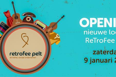 Officiële opening ReTroFee Pelt