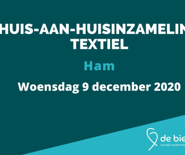 Huis-aan-huisinzameling textiel Ham