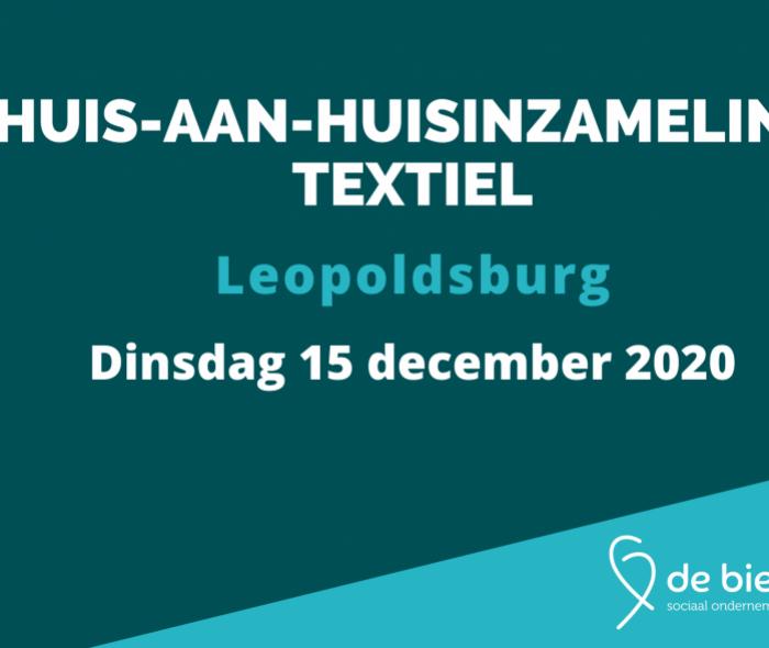 Huis-aan-huisinzameling textiel Leopoldsburg